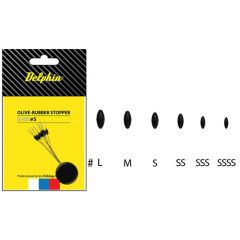 Opritor Delphin Rubber Stopper Olive - SSS
