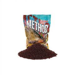 Pelete Benzar Mix Method Black Halibut 2mm/800g