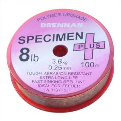 Fir monofilament Drennan Specimen Plus 0.27mm/10lb/100m