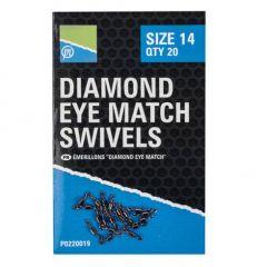 Varteje Preston Diamond Eye Match Swivels Nr.14