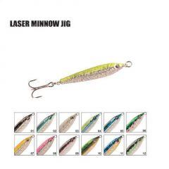 Pilker P-Line Laser Minnow 14gr/5.3cm, culoare 01