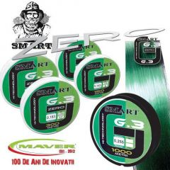 Fir monofilament Maver Smart G.3 0,18mm/3,0kg/1000m