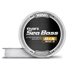 Fir Textil Varivas Avani Seabass PE Si-X 0.18mm/25lb/150m