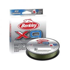 Fir textil Berkley X9 Low Vis Green 0.30mm/13.6kg/150m