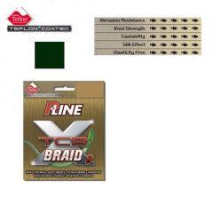 Fir textil P-Line X TCB-8 Teflon Moss Green 0,26mm/19kg/135m