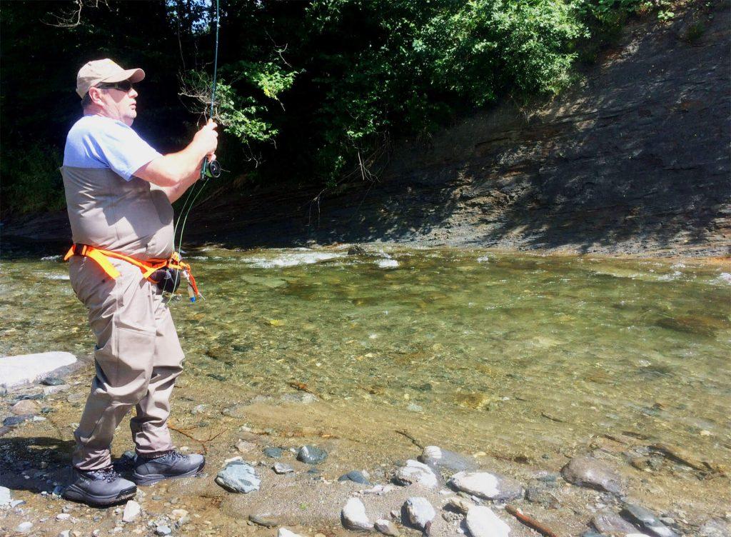 pescuit la pastrav Doru Ilcus