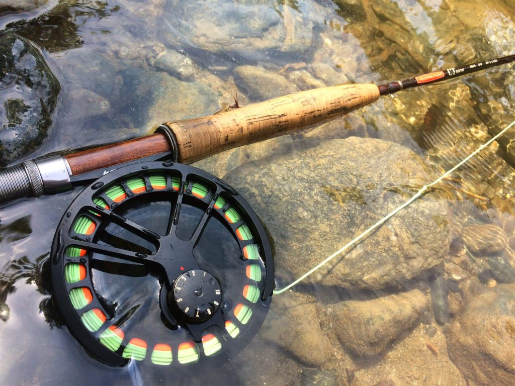 lanseta pescuit la nimfa