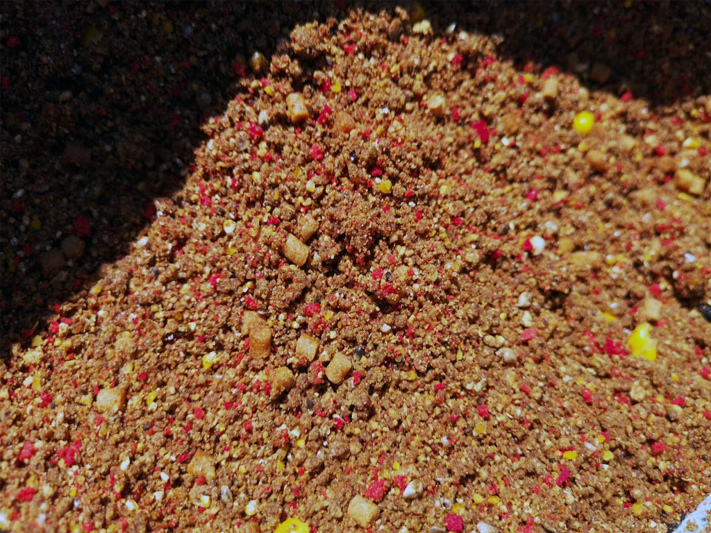 pregatirea nadei - elemente importante de granulatie diferita