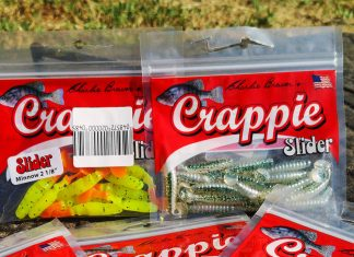 pescuit la biban Slider Crappie