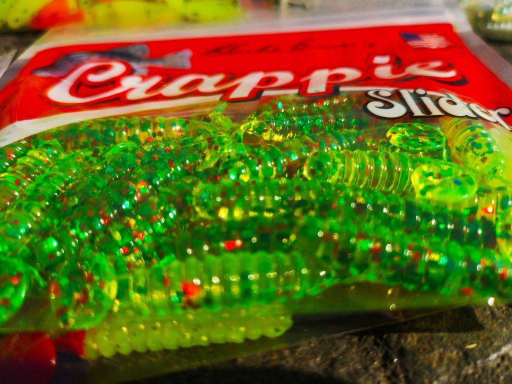 Crappie Slider verde