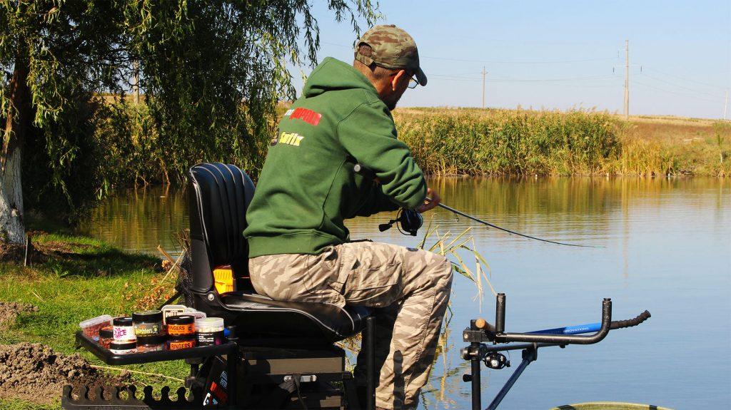 drill la pescuit la crap la feeder