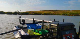 pescuitul la crap la rubeziana