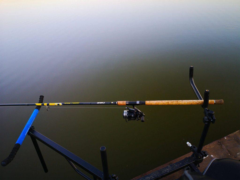 pozitie corecta lanseta pescuit la crap la feeder