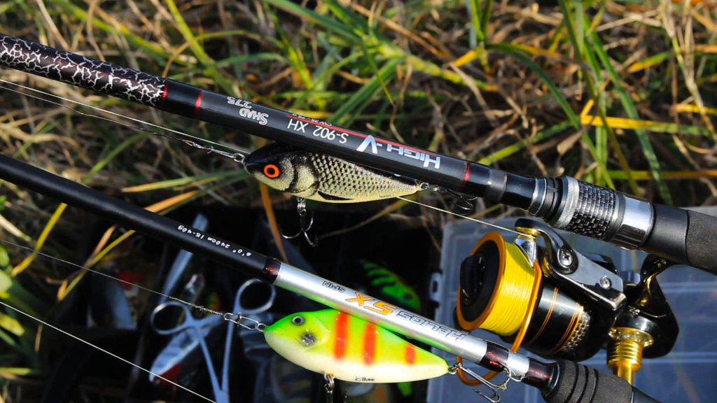 glidere pentru pescuitul stiucii