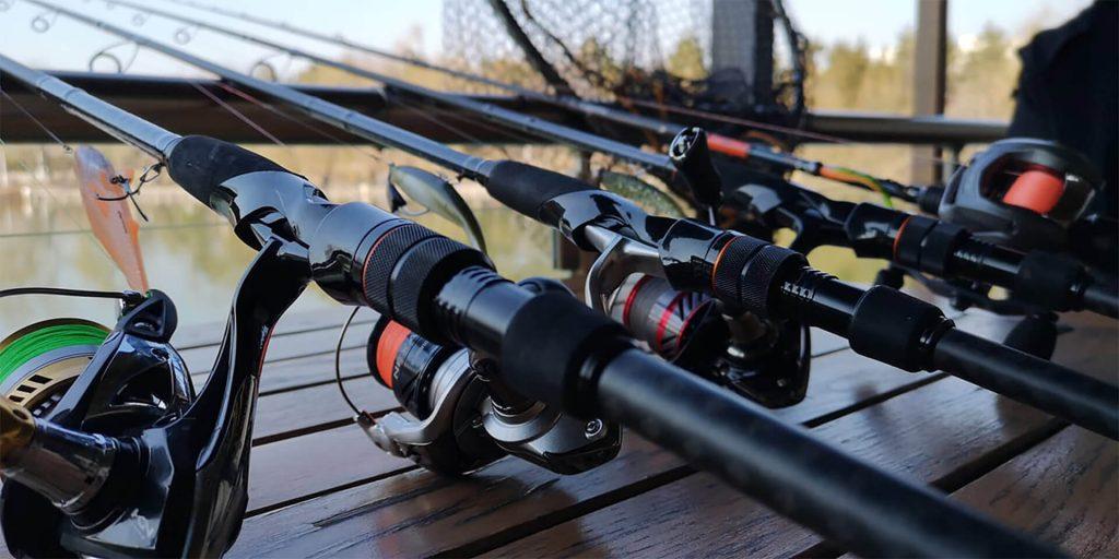 lansete pentru pescuit la rapitor