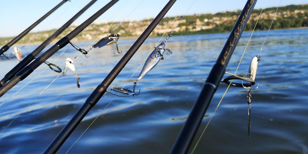 lanstete pentrui pescuit la rapitor