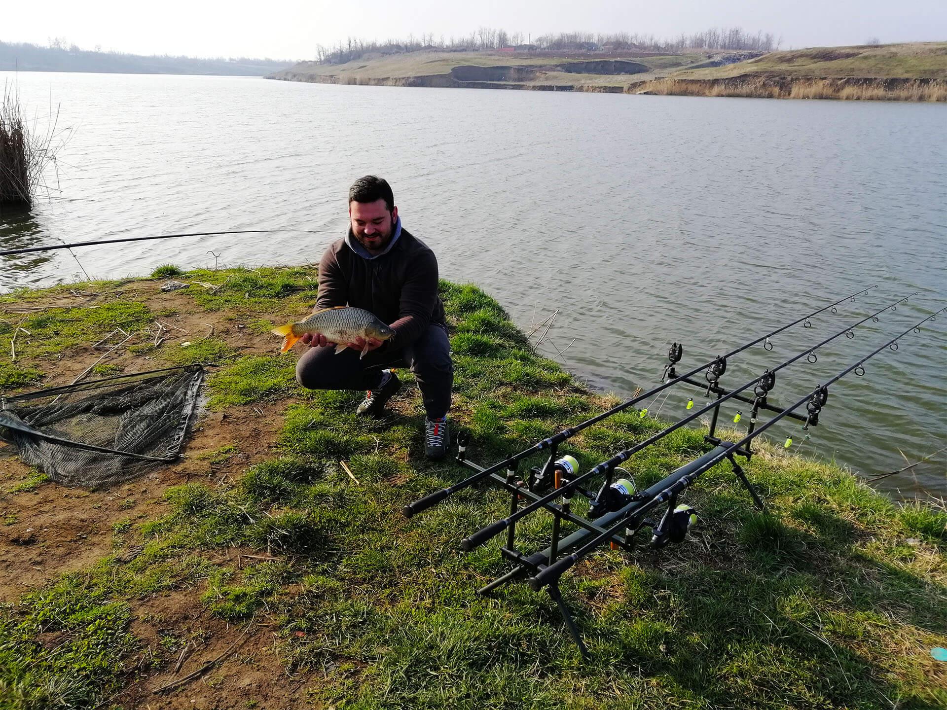 pescuit la crap start de sezon