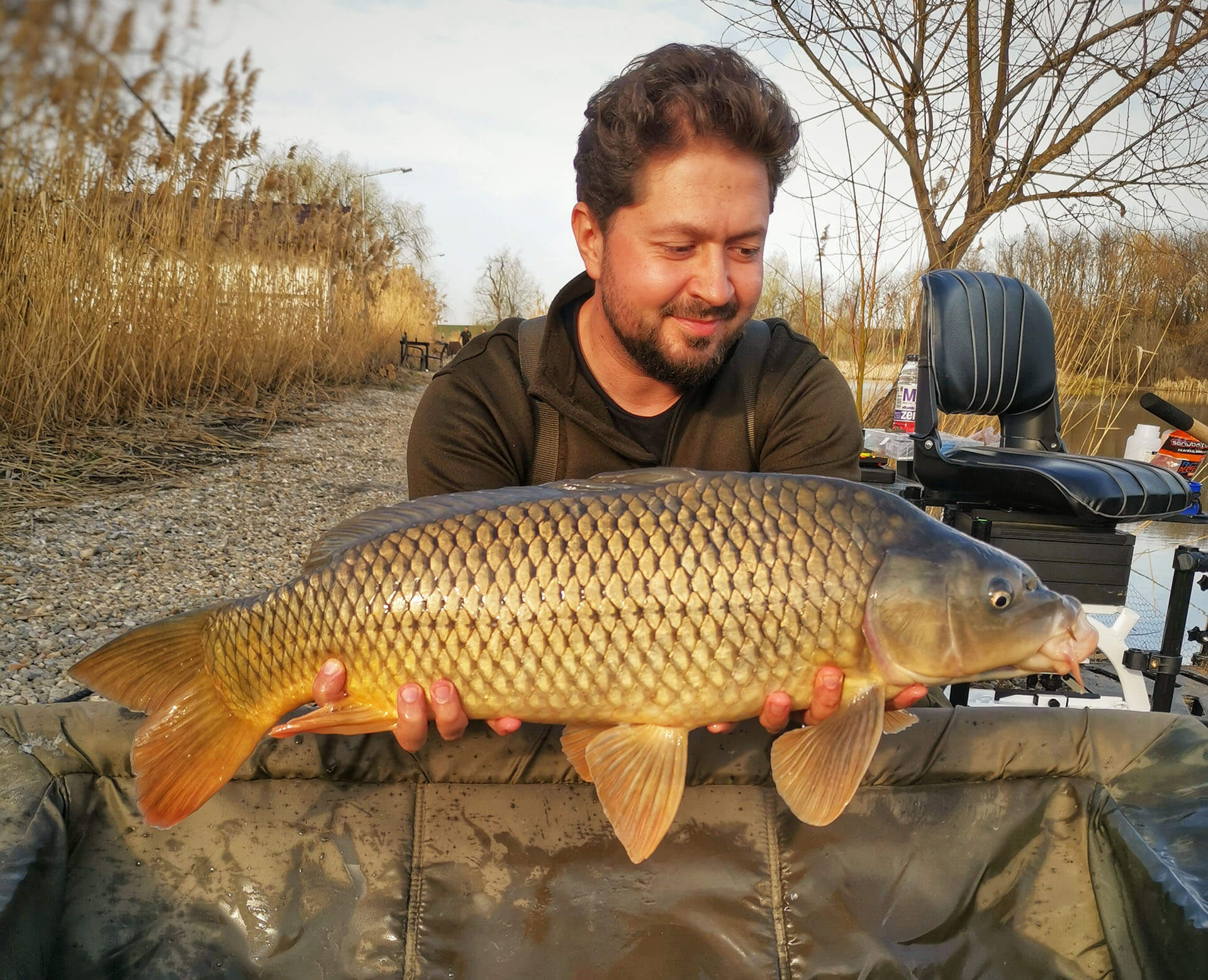 captura crap pescuit la feeder pe Dyno Lake