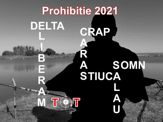 prohibitie si sezonul de pescuit 2021