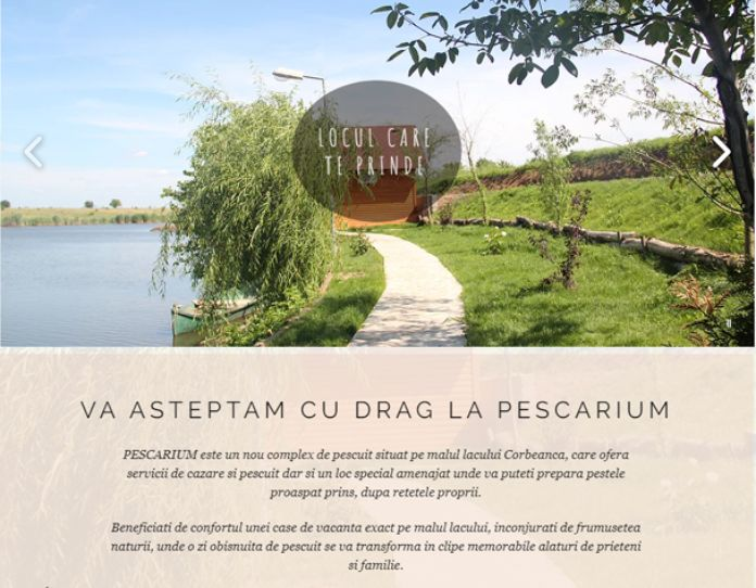 Balti de pescuit 2021 Lacul Pescarium Corbeanca