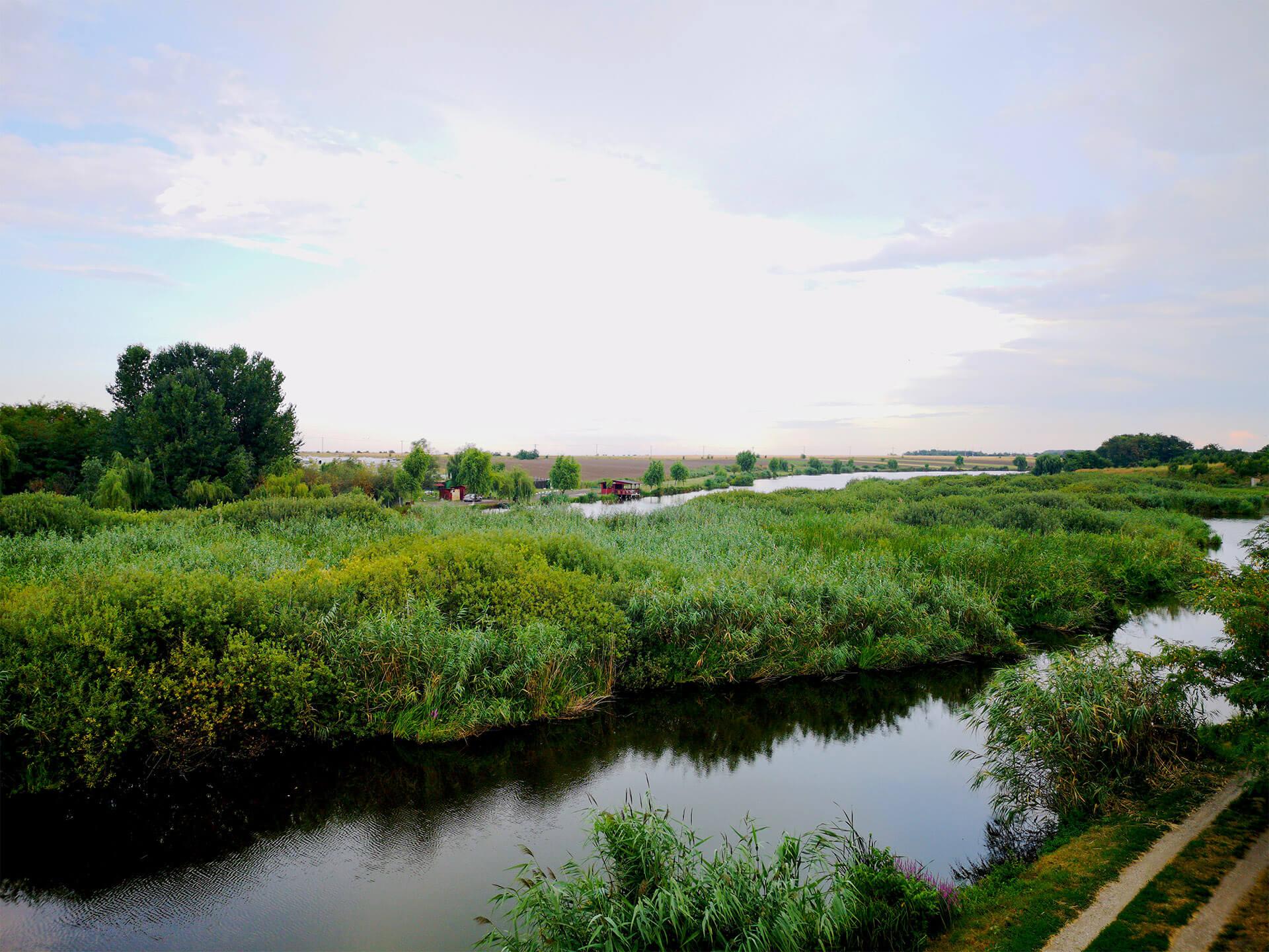 pescuit la stiuca pe lac nou lacul Creata 1