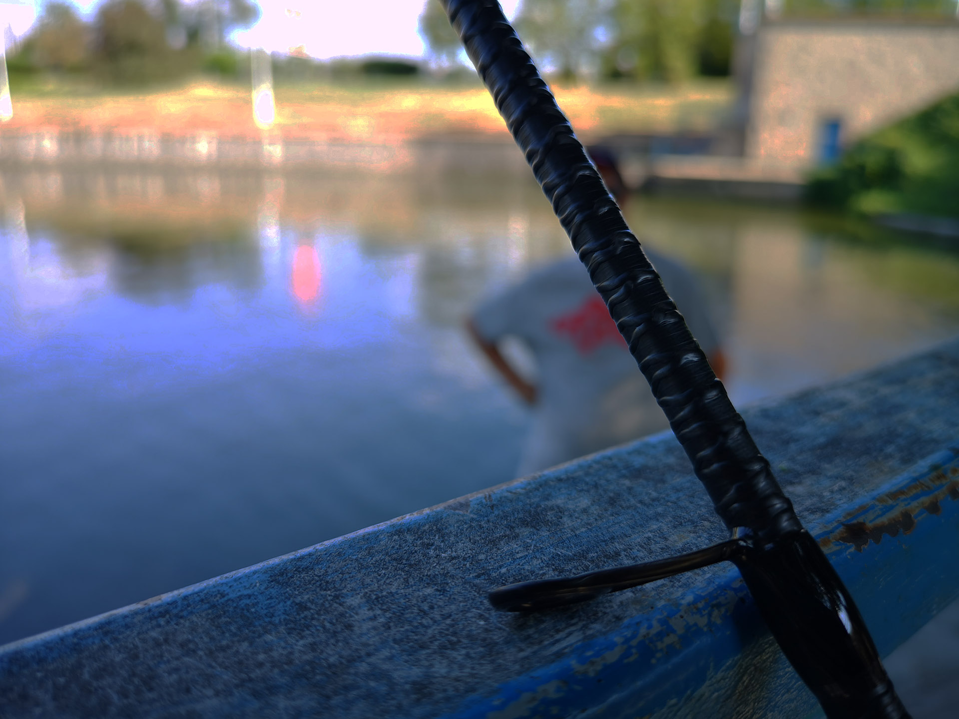 lanseta echipament de pescuit la salau