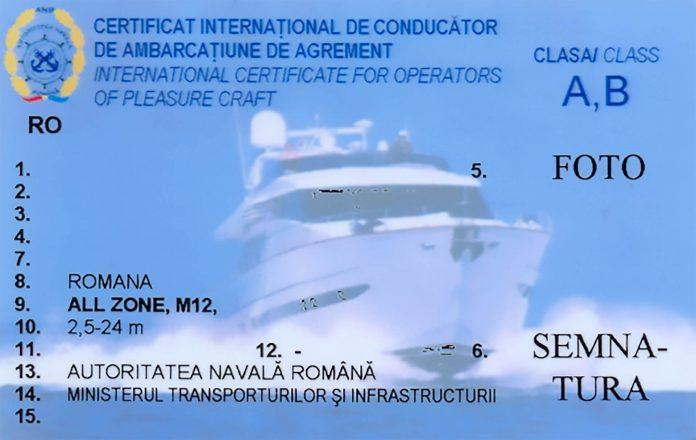 permis de barca