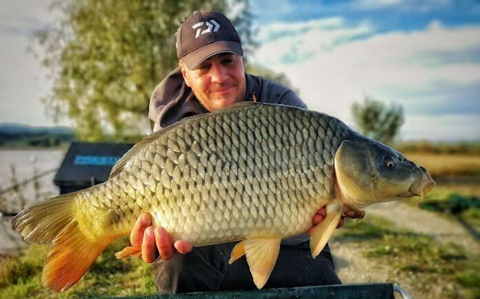 captura lac nou de pescuit la method feeder