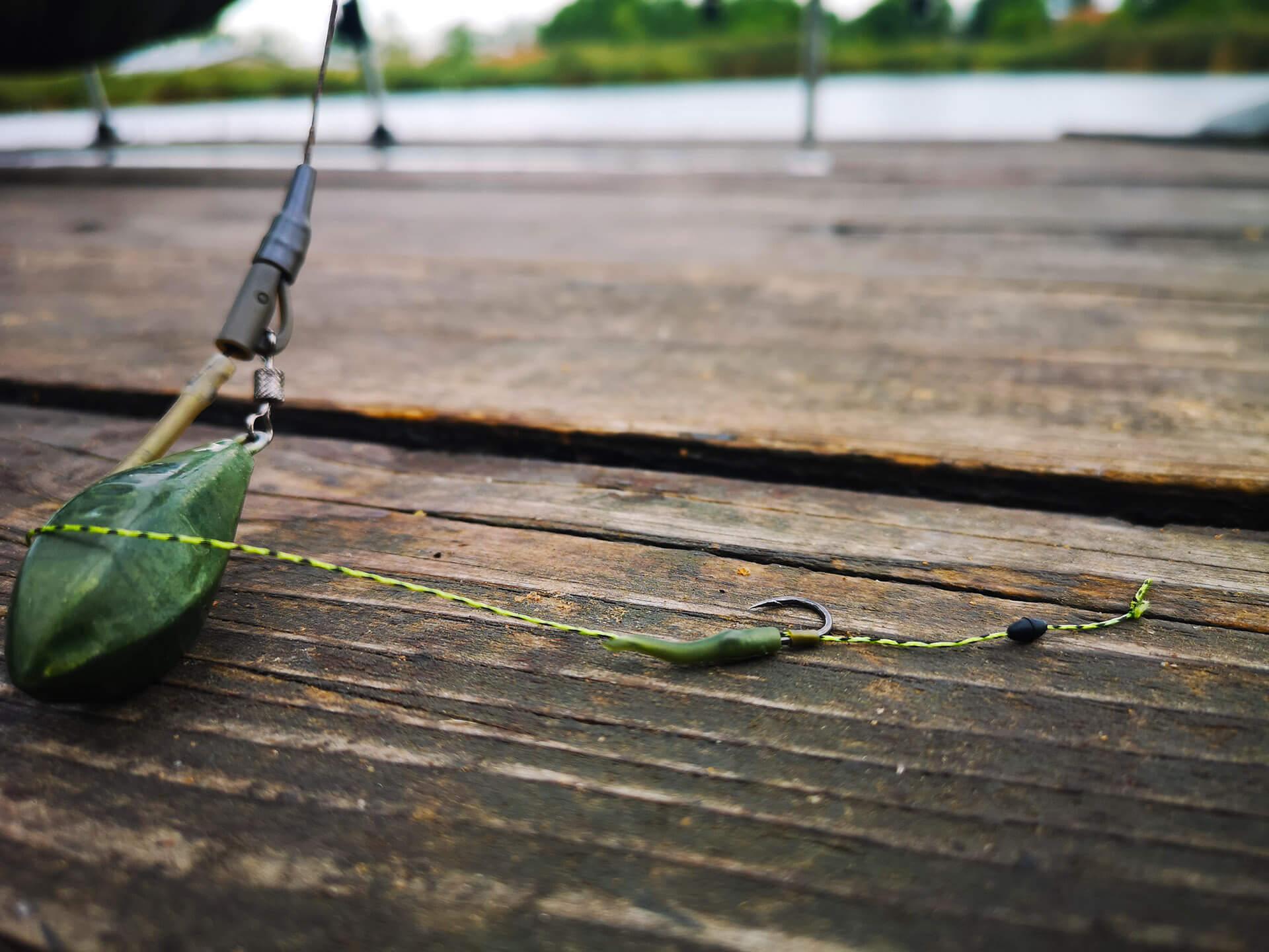 montura pescuit la crap la boilies