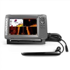 Sonar Lowrance HOOK2-7X Triple Shot TotalScan GPS