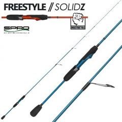 Lanseta Spro FreeStyle Solidz Aquablast 1.80m/15g
