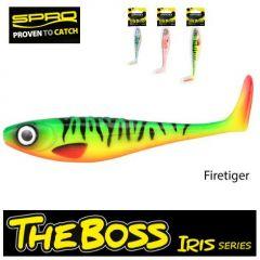 Shad Spro Iris The Boss 12cm, culoare Firetiger