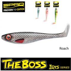 Shad Spro Iris The Boss 12cm, culoare Roach