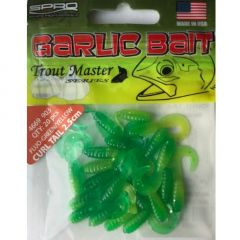 Spro Garlic-B Curl-T 2.5cm, culoare Yellow/Green