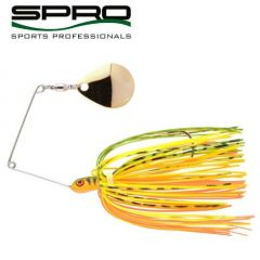 Spinnerbait Spro Micro Rigged Spinnerbait 5gr, culoare Fire Tiger