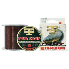 Fir monofilament Trabucco T-Force Pro Carp 0.25mm/8.36kg/300m