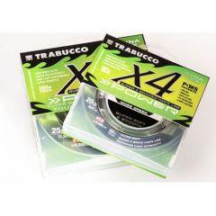 Fir textil Trabucco Dyna-Tex X4 Power UV Moss Green 0.10mm/4.54kg/150m