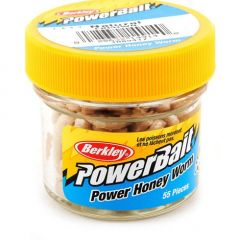 Berkley PowerBait Honey Worm 3cm - Natural