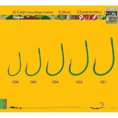 Carllige Gamakatsu A1 G-Carp Green Super - Nr. 2