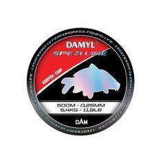 Fir monofilament D.A.M Damyl Spezi Line Carp 0.25mm/5.4kg/500m