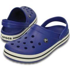 Papuci Crocs Crocband Cerulean Blue/Oyster, marime M8W10