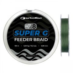 Fir Textil Garbolino Super G Feeder Braid 0.08mm/6.00kg/150m