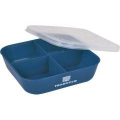 Cutie momeala Trabucco Bait Box 4 Div Blue
