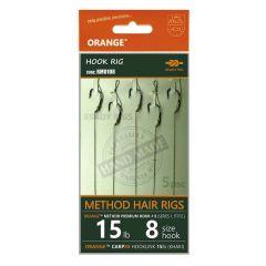 Montura Orange Method Hair Rigs Series 1 Nr.10/15lb