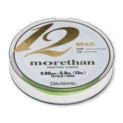 Fir textil Daiwa Morethan 12 Braid Lime Green 0.10mm/7.3kg/135m
