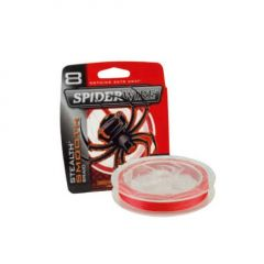 Fir textil Spiderwire Stealth Smooth 8 Red 0.06mm/6.6kg/150m