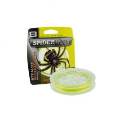 Fir textil Spiderwire Stealth Smooth 8 Yellow 0.06mm/6.6kg/150m