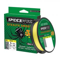 Fir Textil Spiderwire Stealth Smooth 12 Braid Hi-Vis Yellow 0.09mm/7.5kg/150m