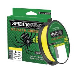 Fir Textil Spiderwire Stealth Smooth 8 Yellow 0.14mm/12.5kg/150m