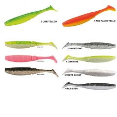 Shad Rapture Power Shad Dual 11.5cm, culoare Neon Yellow